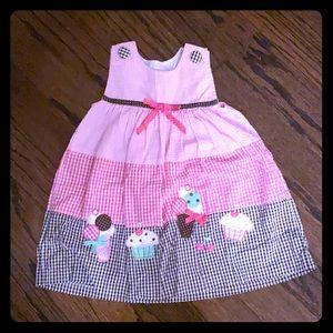 Rare Editions Girl's Summer Dress w/ Diaper Cover